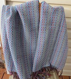 Sinikka - 100% Wool Shawl 2019 IMG_0477