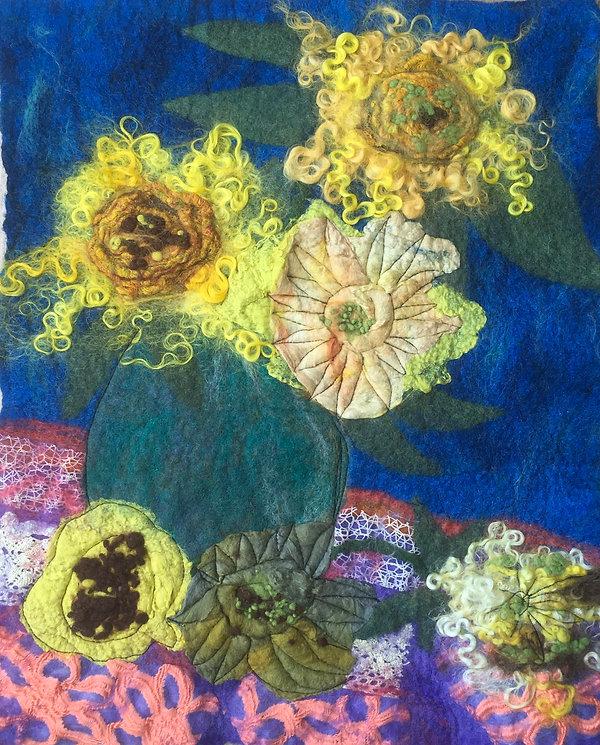 Janice - Van Gough inspired sunflowers I