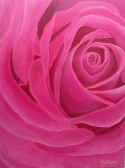 Raymond's Rose 18 x 24 Sold