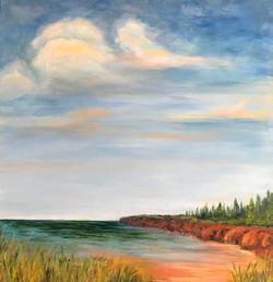 Claire - The Cliffs Call Me Home - acryl