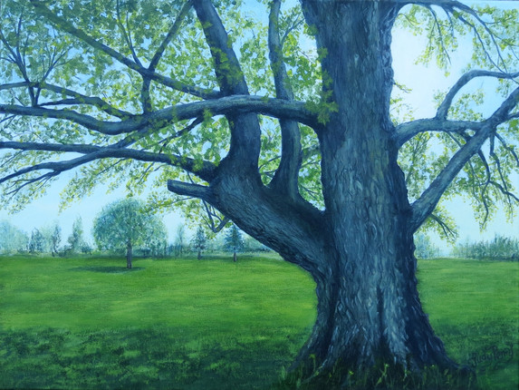 International Memorial Tree 18 x 24 - Sold