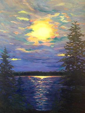 Margaret W, Moonlight Over Brudenell, oi