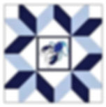 Ellen - 1 Logo - Blue Lobster Barn Quilt