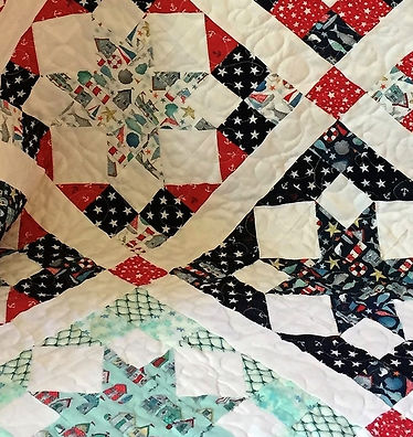 Ruth - By The Sea, Quilt  62 x 78 2020 1