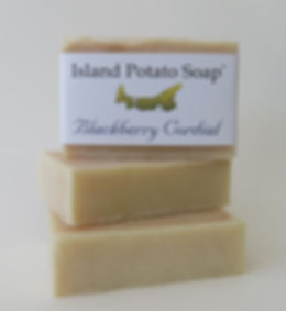 Island Potato Soap - Blackberry Cordial.