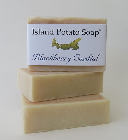 Island Potato Soap - Blackberry Cordial.