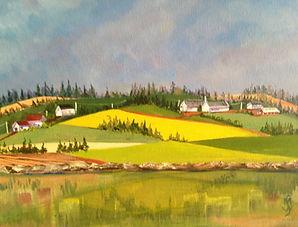 Margaret W., Overlooking Bonshaw Hills,