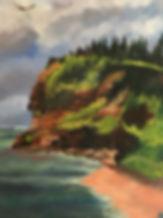 Margaret W - Basin Head, 12 x 16 oil on