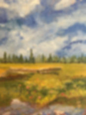 Margaret W. - Pond Lilies in Cardigan, O