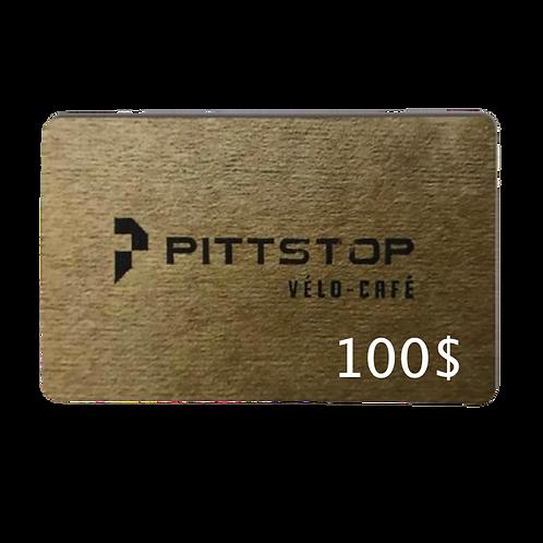 Carte cadeau 100$