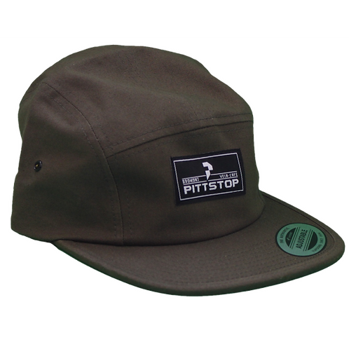 "Casquette ""Jockey"" - Olive"