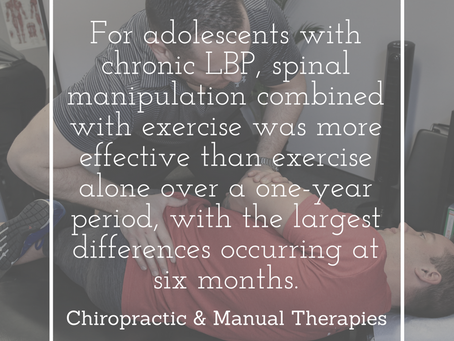 Low Back Pain in Adolescents
