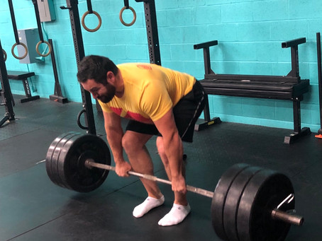 Low Back Pain After Deadlifts