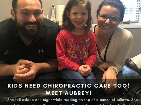 Kids Need Chiropractic Care Too!