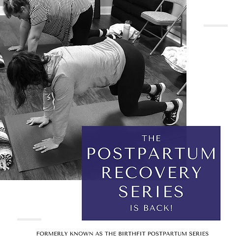 Postpartum Recovery Series