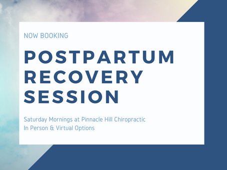 Postpartum Recovery Session