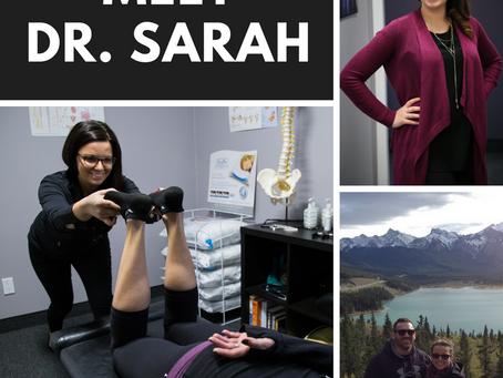 Meet Dr. Sarah