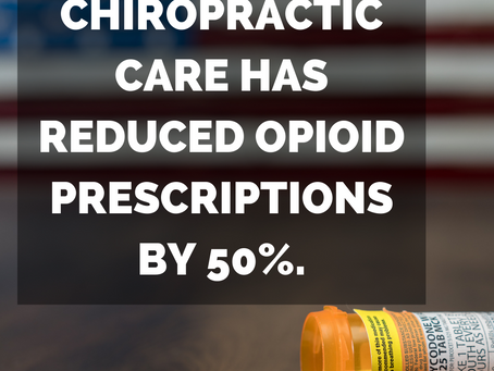 Chiropractic Care To Reduce Opioid Prescriptions