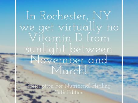 Vitamin D In The Winter