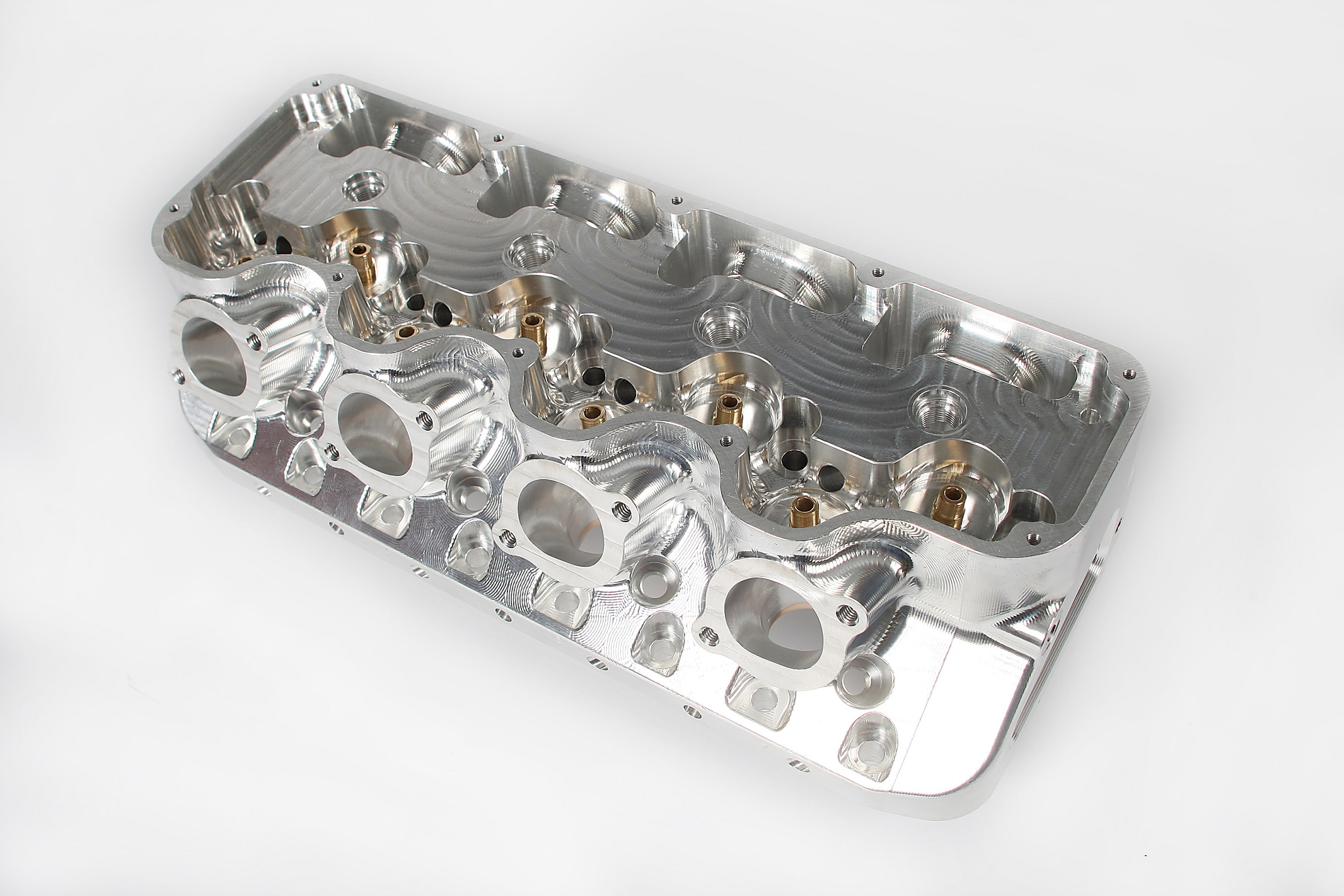 MBE SB Chevy Billet 4 400 | MBE Cylinder Heads & Manifolds