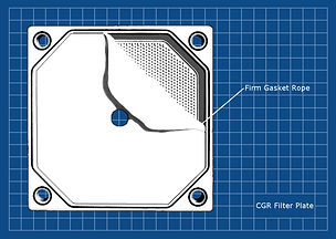 Gasket Cord for CGR Filter Plates