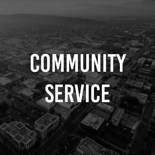 Court Ordered Community Service