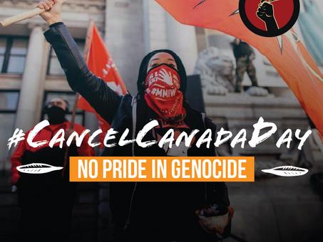 #CancelCanadaDay: Reflecting on Accountability