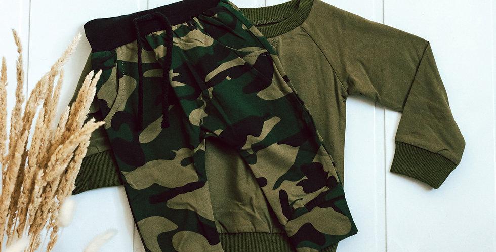 Camo Sweater Set