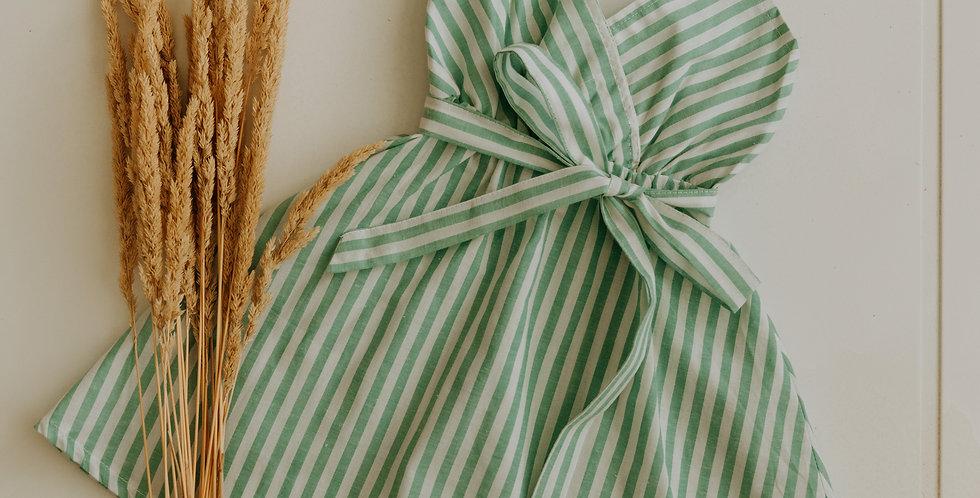 Mint Striped Dress