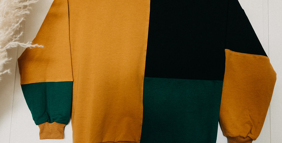 Tri-colored Sweatshirt