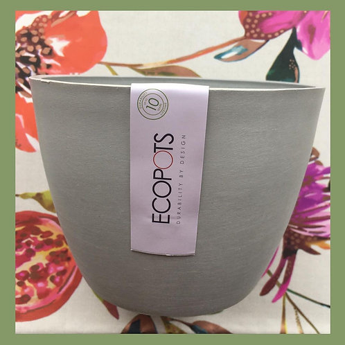 Scandinavian Style Plant Pot - Light Grey (100% Recycled)
