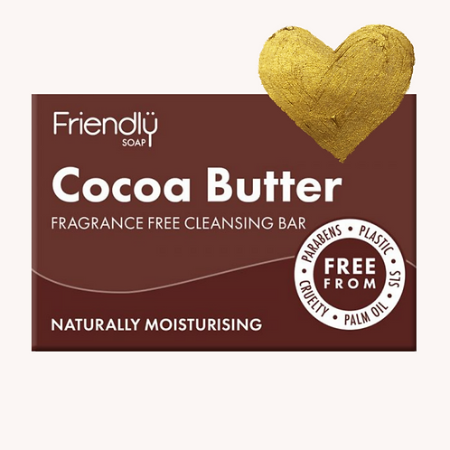 Friendly Fragrance Free Cocoa Butter Bar
