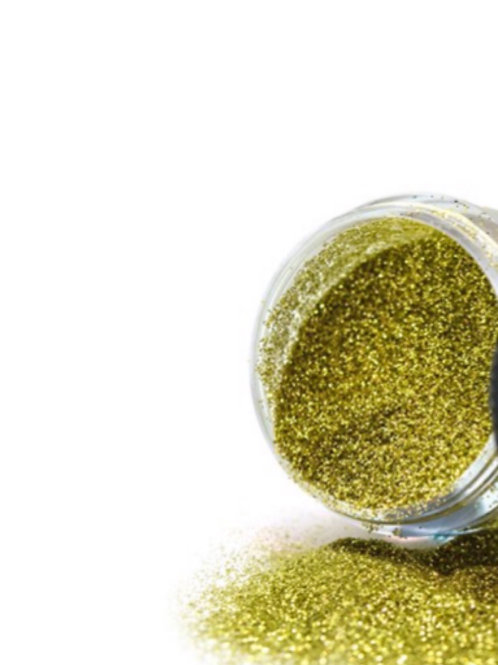 Biodegradable Cosmetic Gold Glitter - 4g Pot