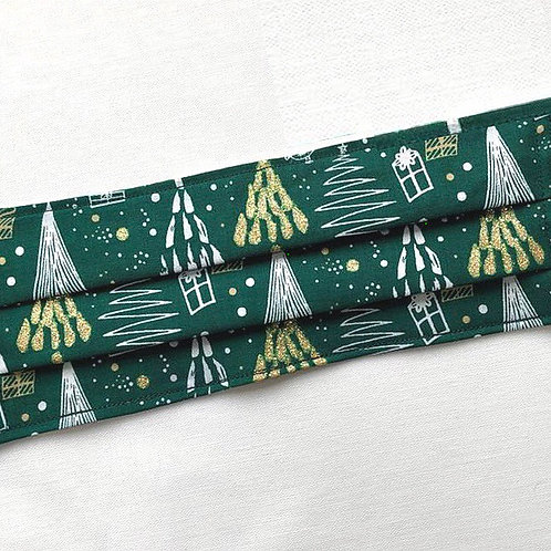 Festive Trees Non-Medical Cotton Face Mask
