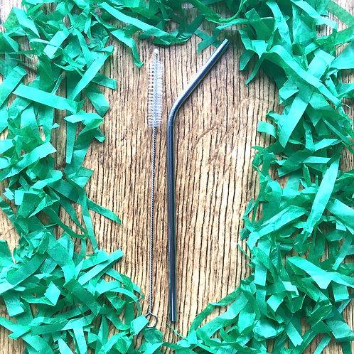 Secret Santa - Stainless Steel Straw & Brush Cleaner
