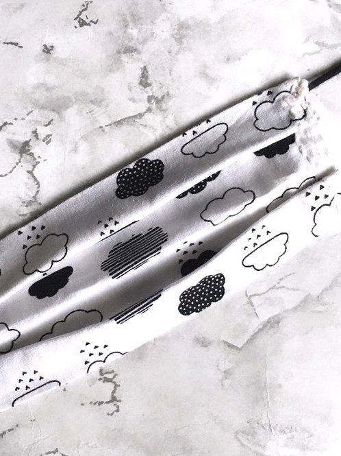 Mono Clouds Non -Medical Cotton Face Covering
