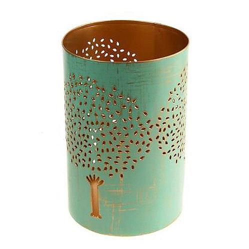 Fair Trade Metal Tree Tea Light Holder - Made in India