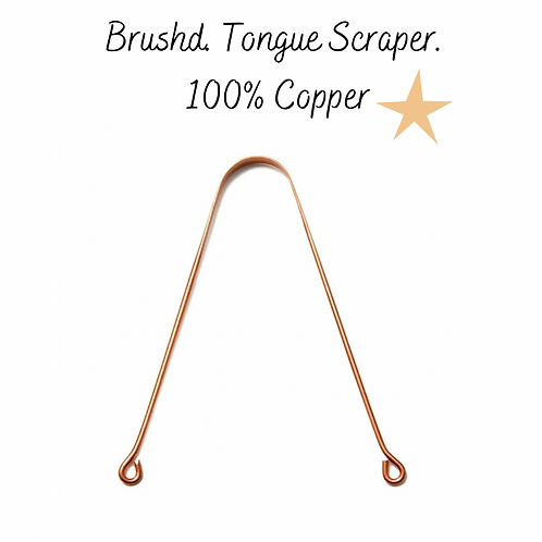 Brushd. 100% Pure Copper Tongue Cleaner
