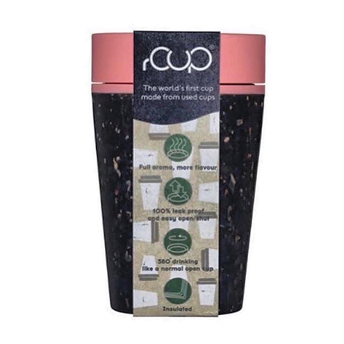 100% Recycled Reusable Coffee Cup (227ml, 8oz)