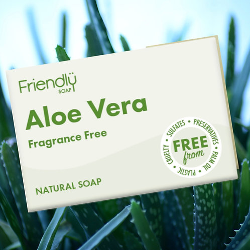 Vegan Aloe Vera Face and Body Soap