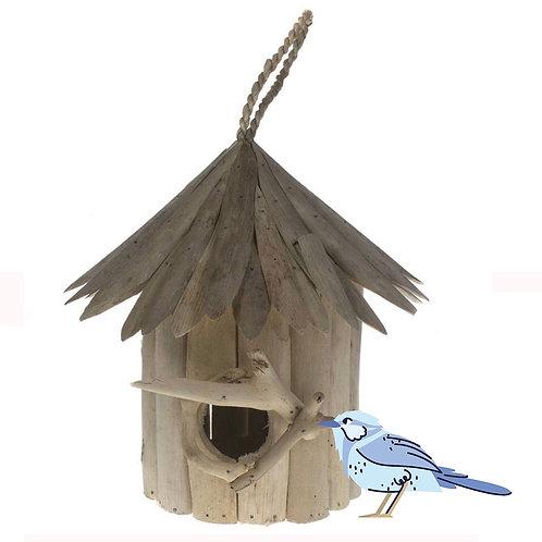 Fair Trade Driftwood Bird House