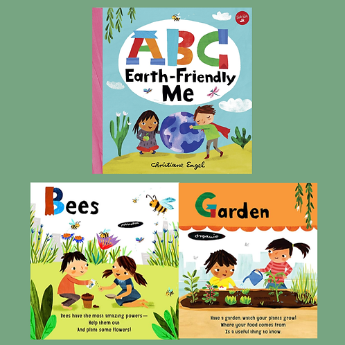 ABC Earth-Friendly Me: From Action to Zero Waste(Boardbook)