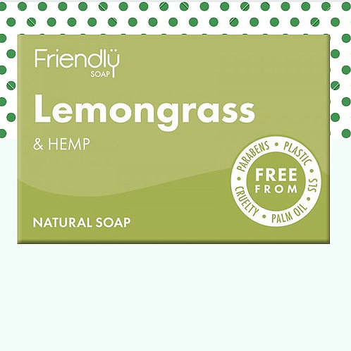 Friendly Antibacterial Lemongrass Hand & Body Soap