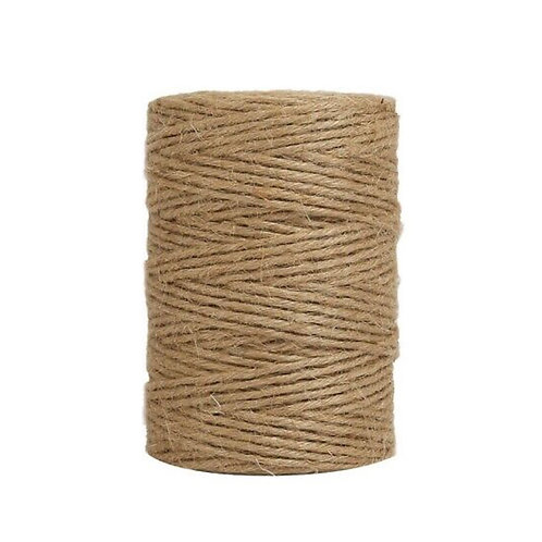 Natural Jute Parcel Twine - Made From Plants