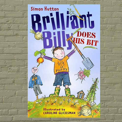 Brilliant Billy Does His Bit (Paperback)