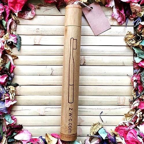 Zero Waste Club Bamboo Toothbrush Case
