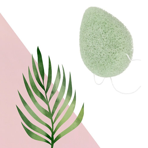 Japanese Konjac Sponge - Made From a Plant Not Plastic
