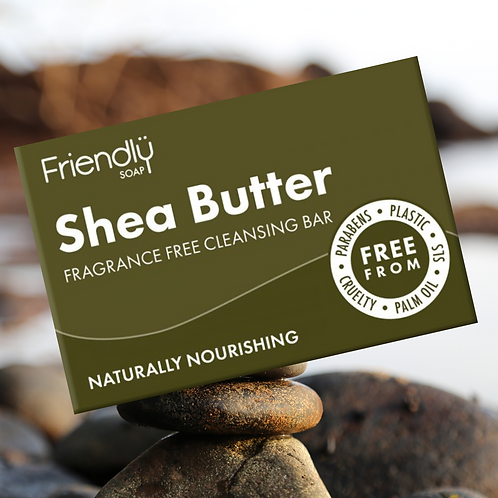 Shea Butter Nourishing Face & Body Cleansing Bar