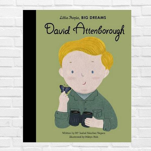 David Attenborough - Little People, BIG DREAMS (Hardback)