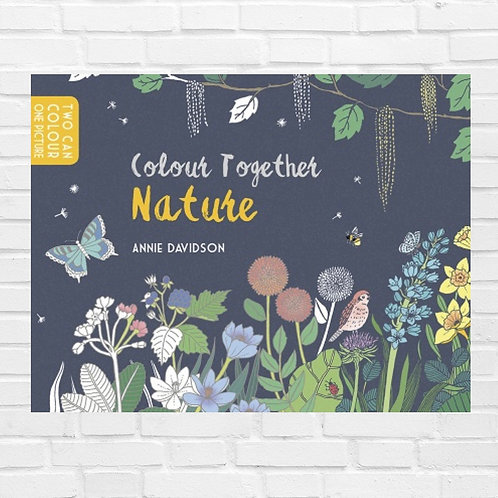Colour Together: Nature Colouring Book (Paperback)